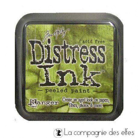 Distress Peeled Paint