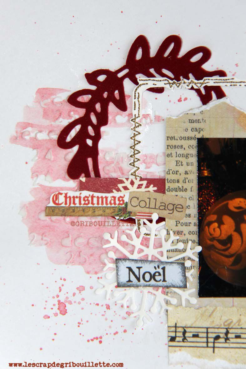 Christmas Collage_Sketch page_Scrap&Co