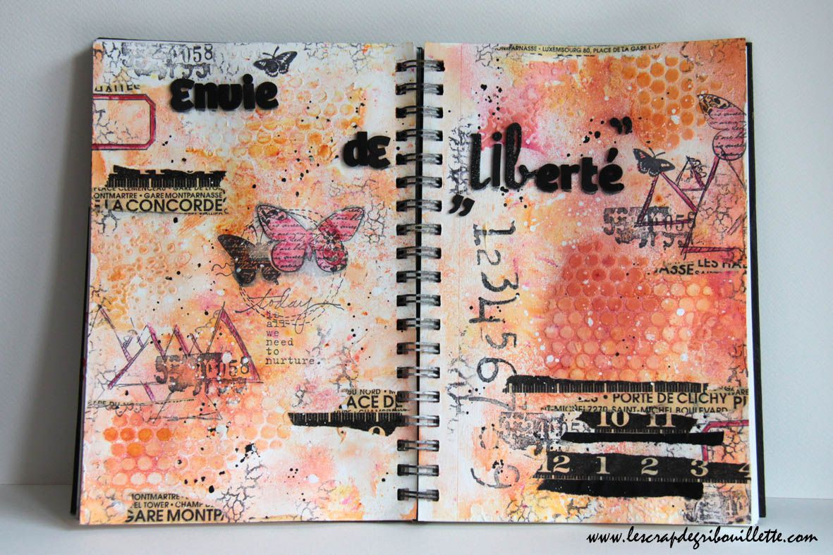 Art Journal_Envie de Liberté