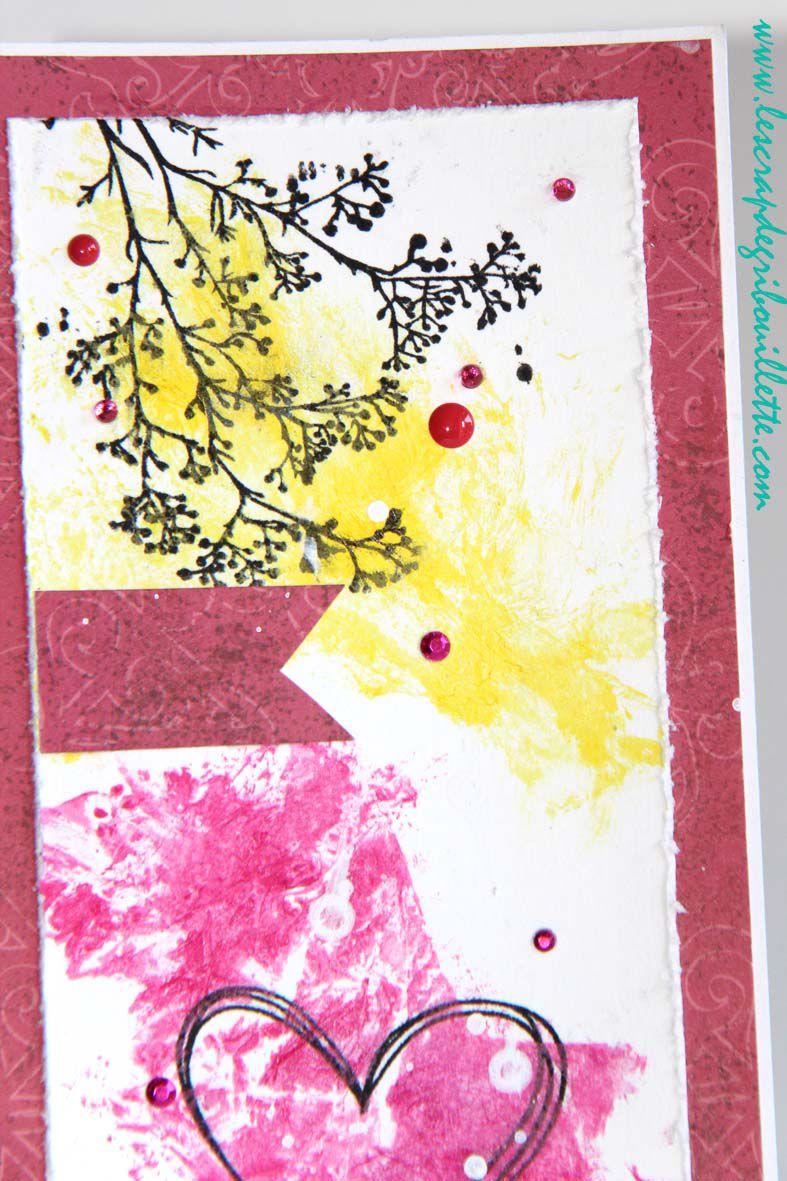 """Carte """"Create""""_DT Scrap&Co_Défi technique_Challenge récompensé"""
