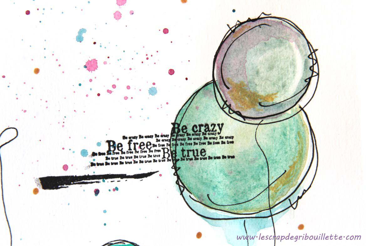Watercolor doodles_Gribouillette
