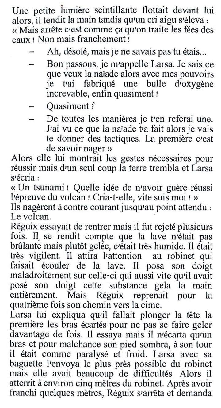 Réguix et la fleur de lys (par Juliette Derly et Pierre Letouvet)