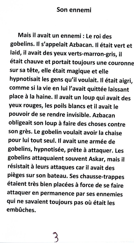 Askar et la chaise magique (par Elise Maurois et Clément Ménard)