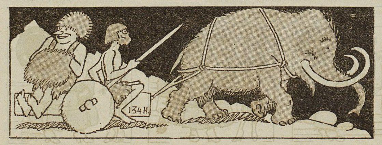 Marguerite Comert - Préhistoire (1928)