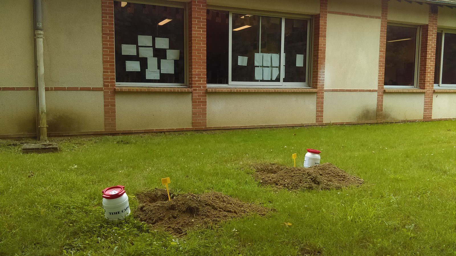 Time Capsule 2018... work in progress... and CEREMONY!!!