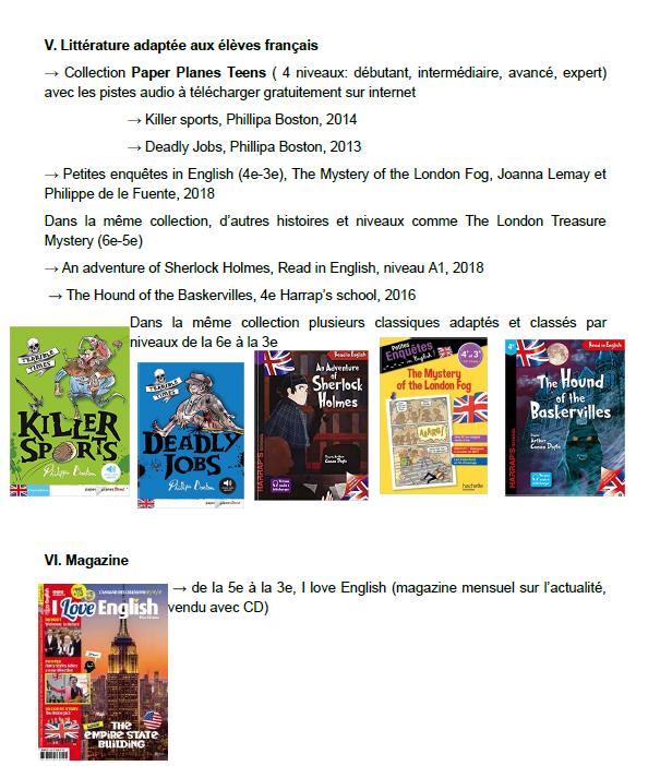 SUMMER Reading! List de livres pour cet été!