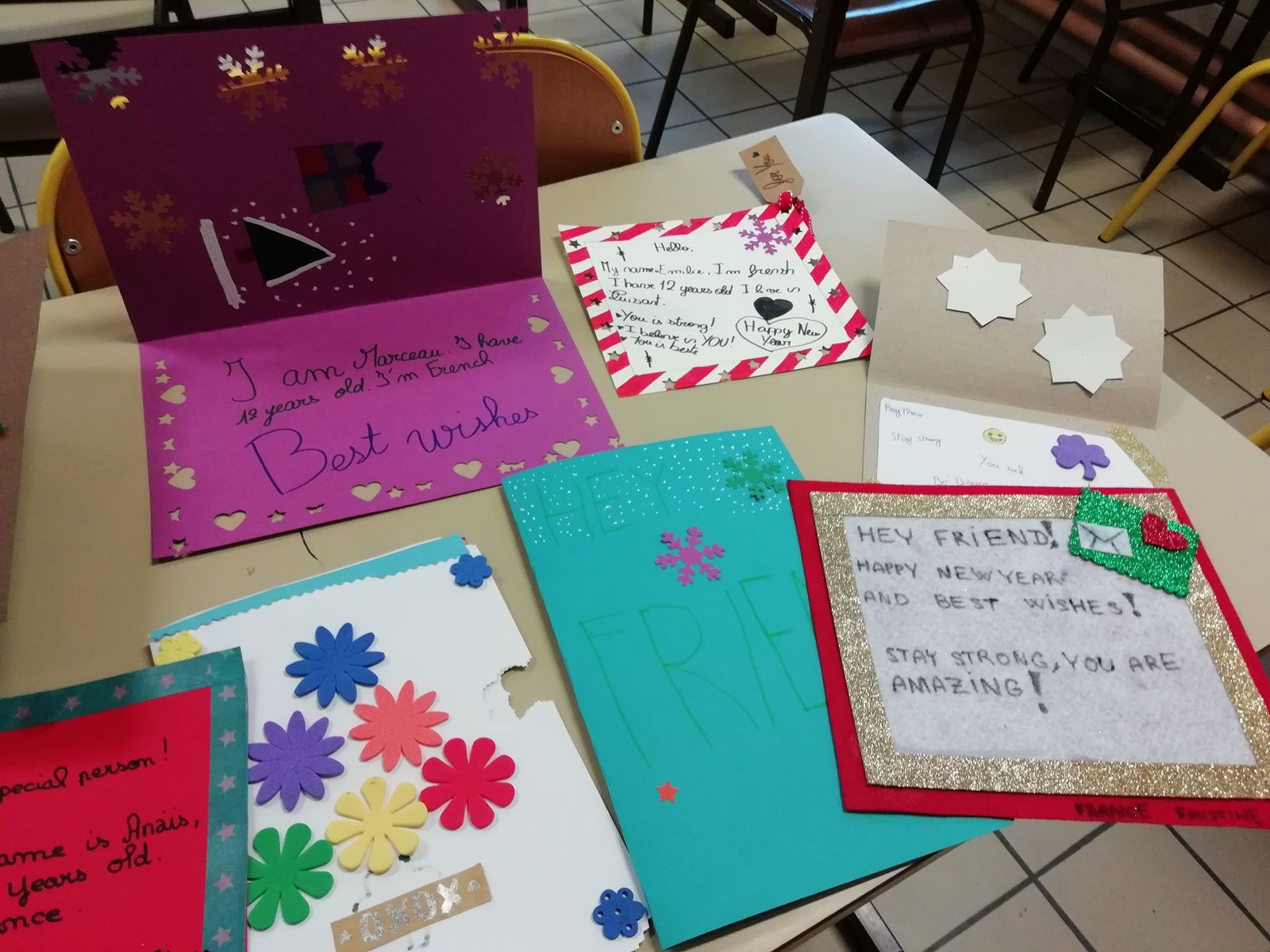 Cards for hospitalized kids --