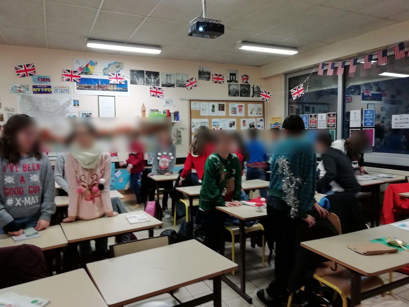 Christmas Pullover day in Jean Monnet! / secret Santa / Britain's got talent!