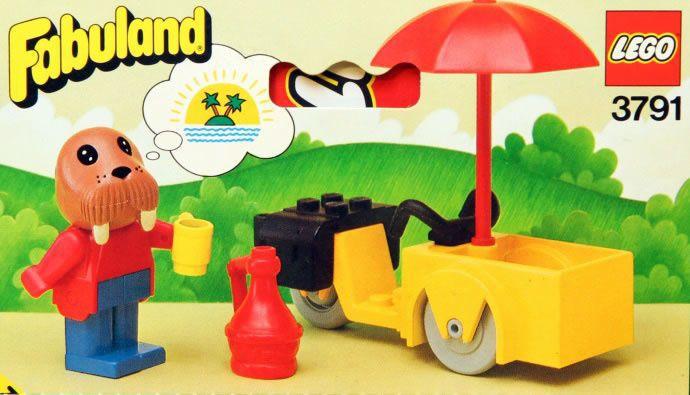 Les sets Lego Fabuland de mon enfance.
