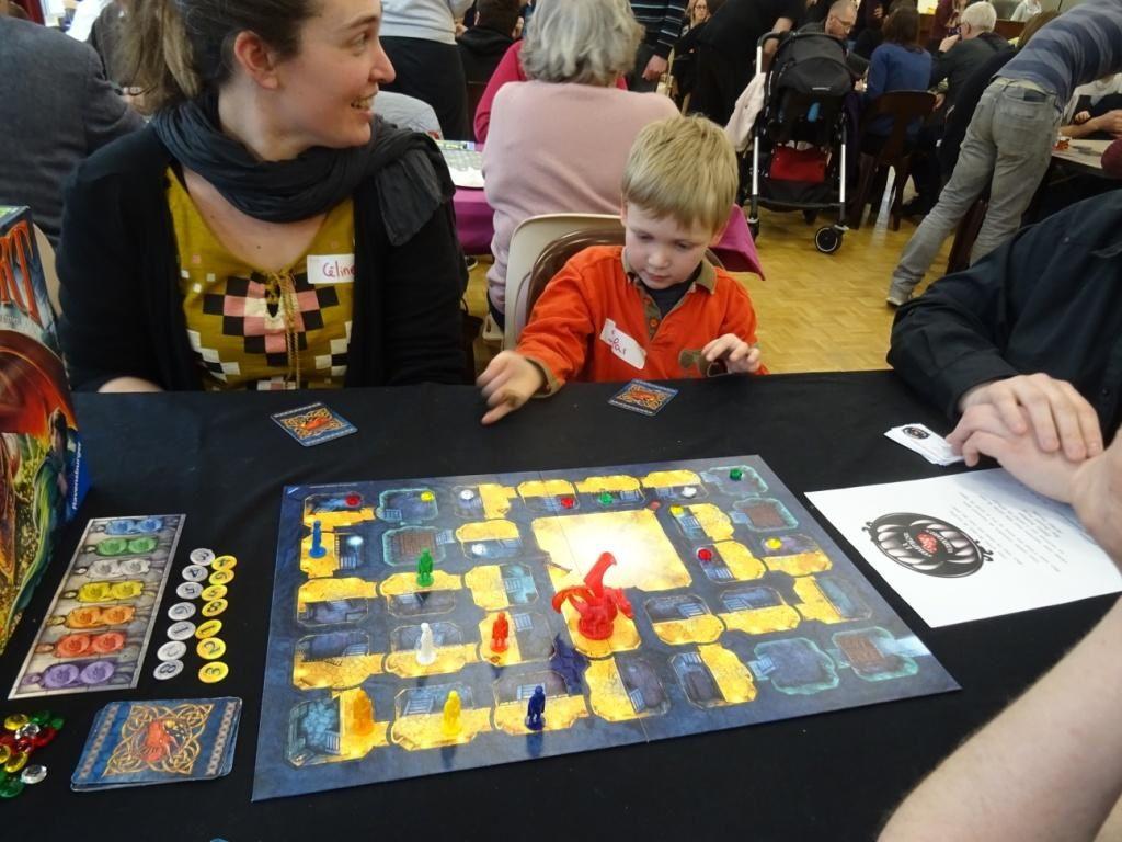 1er festival de jeux de société de Barentin