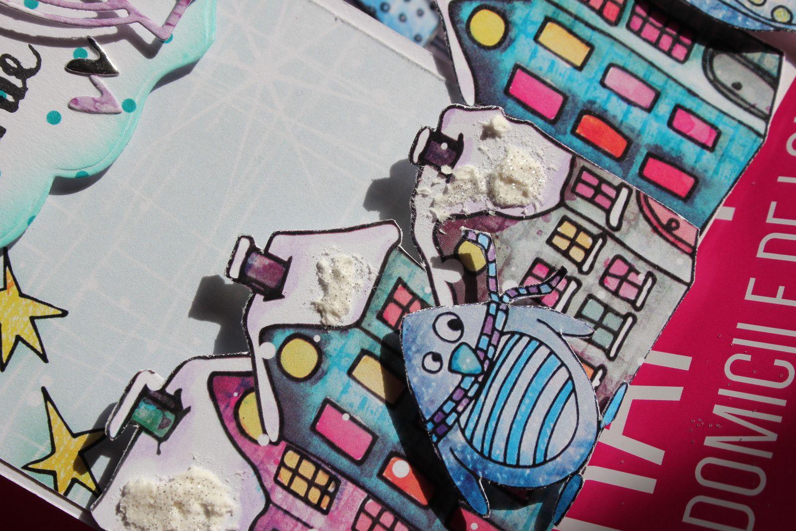 quelques ptits détails sur la colorisation du bonhomme de neige et le reste ;)