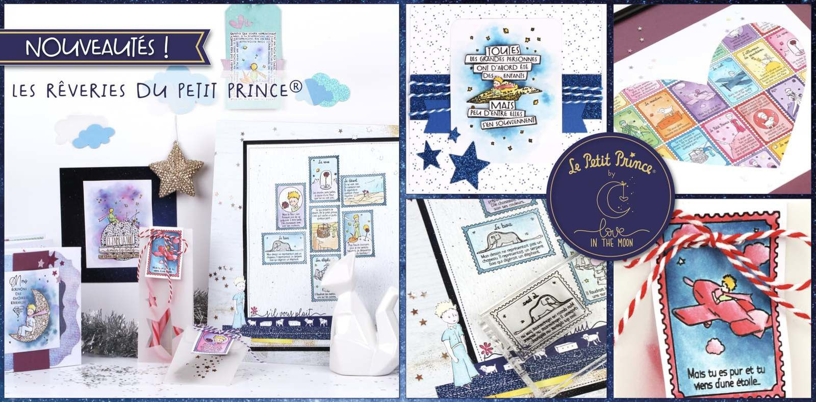 Nouvelle collection chez SCRAP PLAISIR ♡ LOVE IN THE MOON - LE PETIT PRINCE ♡