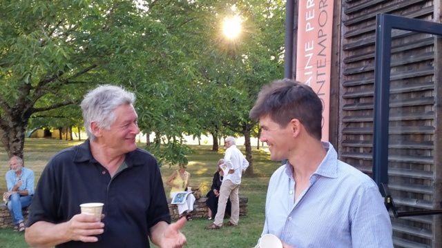 Heinz Jahn et Arno ... à pinceaux rompus ...