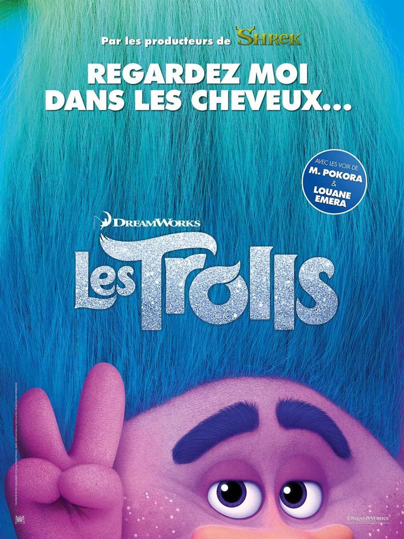 Les Trolls (3 EXTRAITS VF et VOST) avec les voix de Louane et M. Pokora - Le 19 octobre 2016 au cinéma