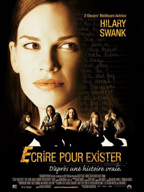 Ecrire pour exister (BANDE ANNONCE 2006) avec Hilary Swank, Patrick Dempsey (Freedom Writers)