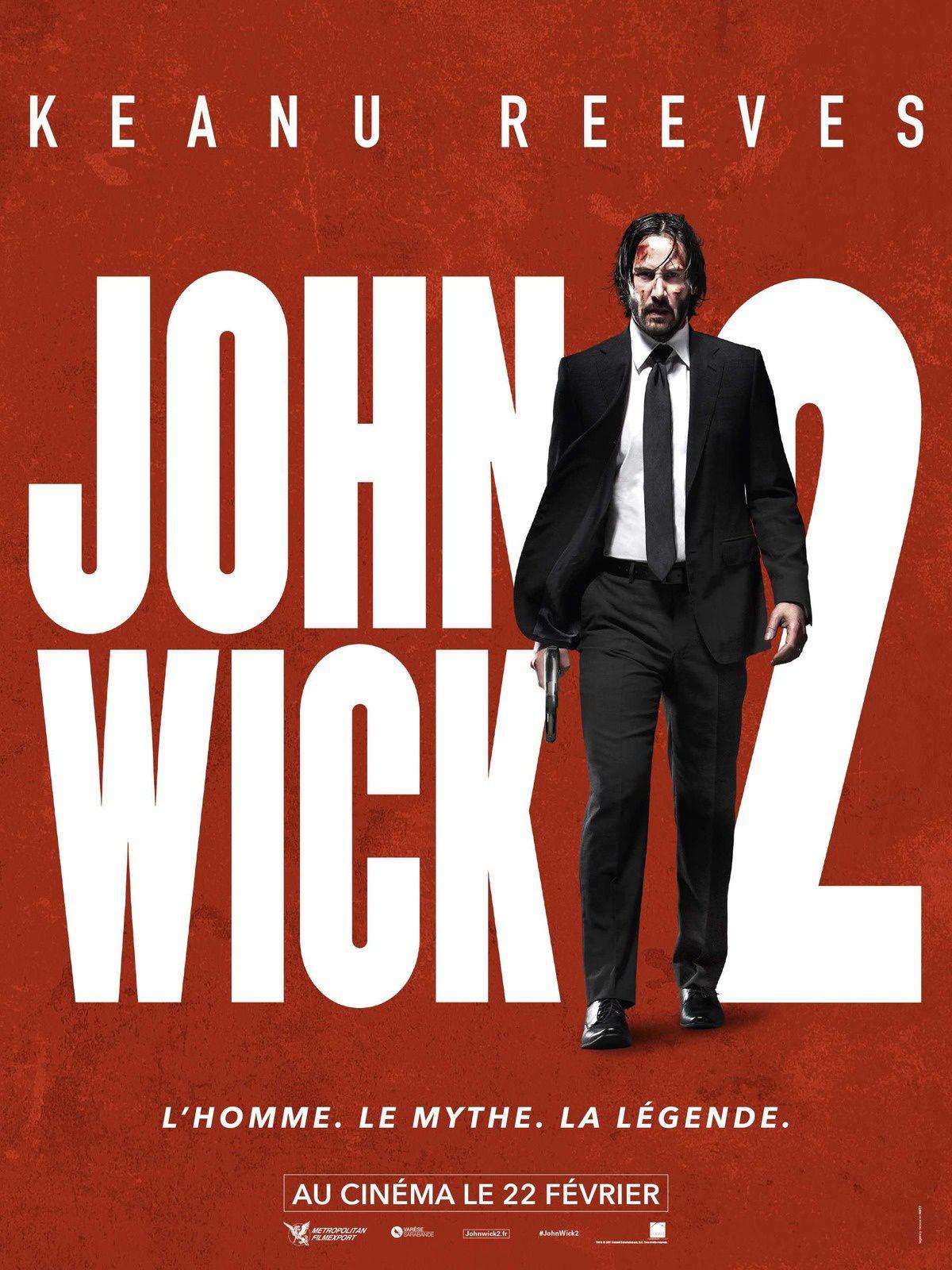 """Découvrez la """"Symphonie de la violence"""" en vidéo ainsi que l'affiche définitive de JOHN WICK 2 (le 22 février 2017 au cinéma) !"""