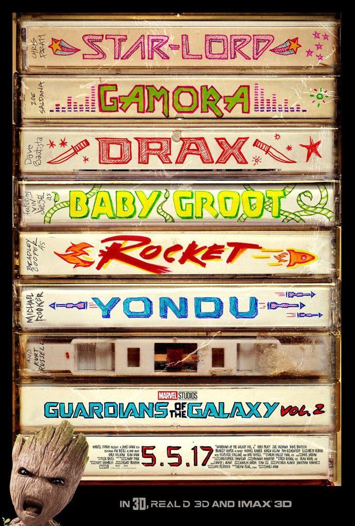 Les Gardiens de la Galaxie Vol.2 (BANDE ANNONCE VF et VOST) avec Chris Pratt, Zoe Saldana - Le 26 avril 2017 au cinéma