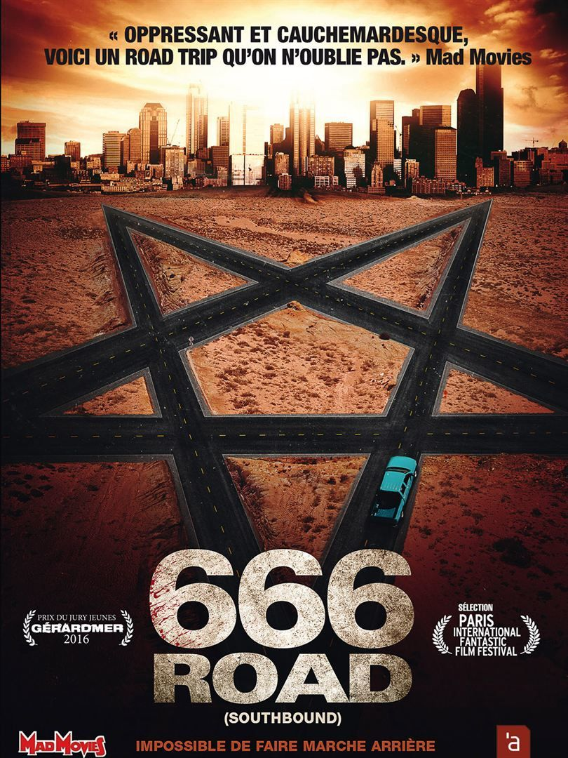 666 Road (Southbound) (2015) (BANDE ANNONCE) avec Matt Bettinelli-Olpin, Chad Villella, Fabianne Therese, Nathalie Love
