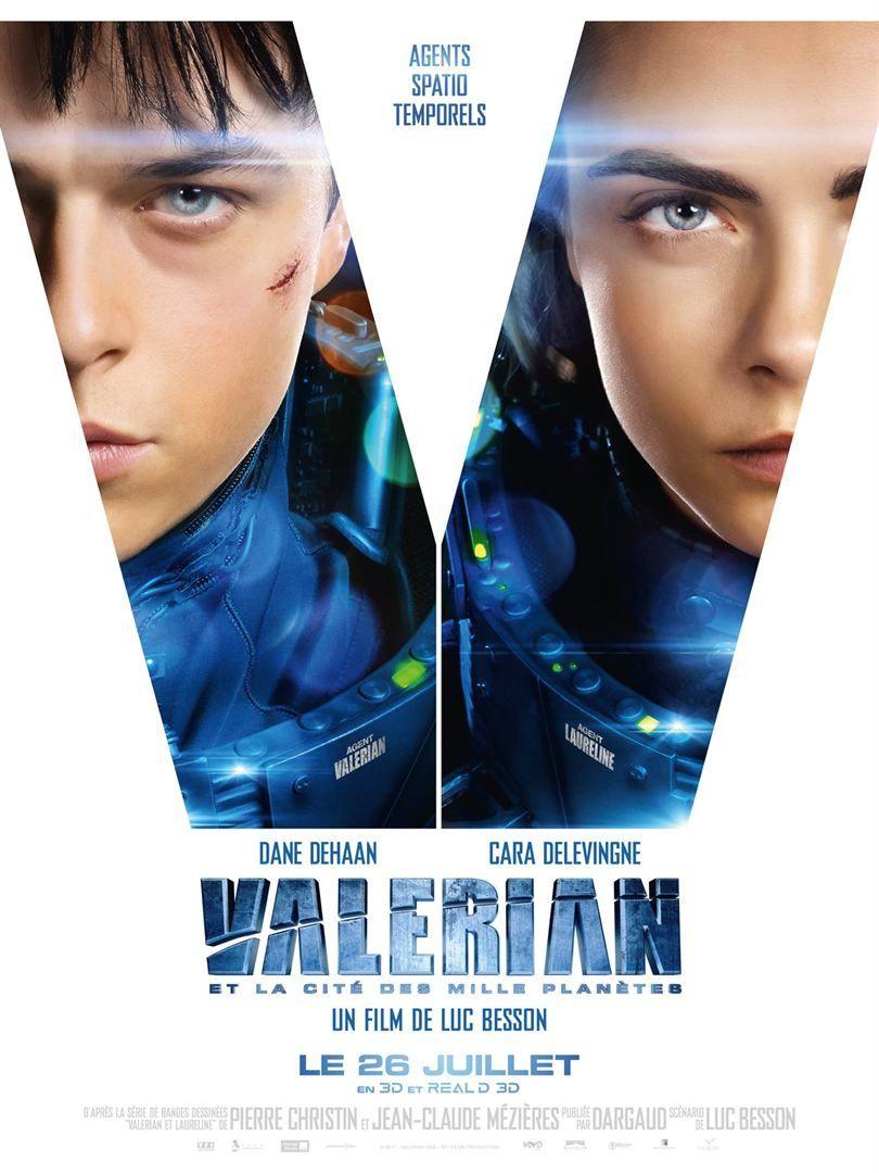 Valérian et la cité des mille planètes (BANDE ANNONCE) de Luc BESSON - Le 26 juillet 2017 au cinéma
