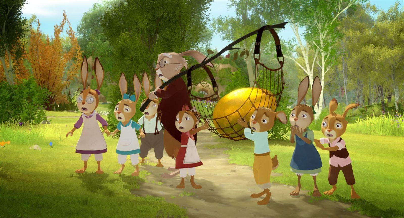L'Ecole des lapins (BANDE ANNONCE) Le 5 avril 2017 au cinéma