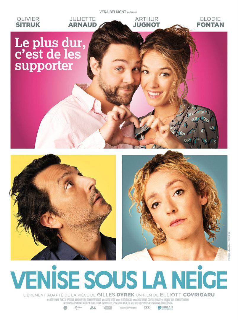 Venise sous la neige (BANDE ANNONCE) avec Élodie Fontan, Arthur Jugnot, Juliette Arnaud - Le 17 mai 2017 au cinéma