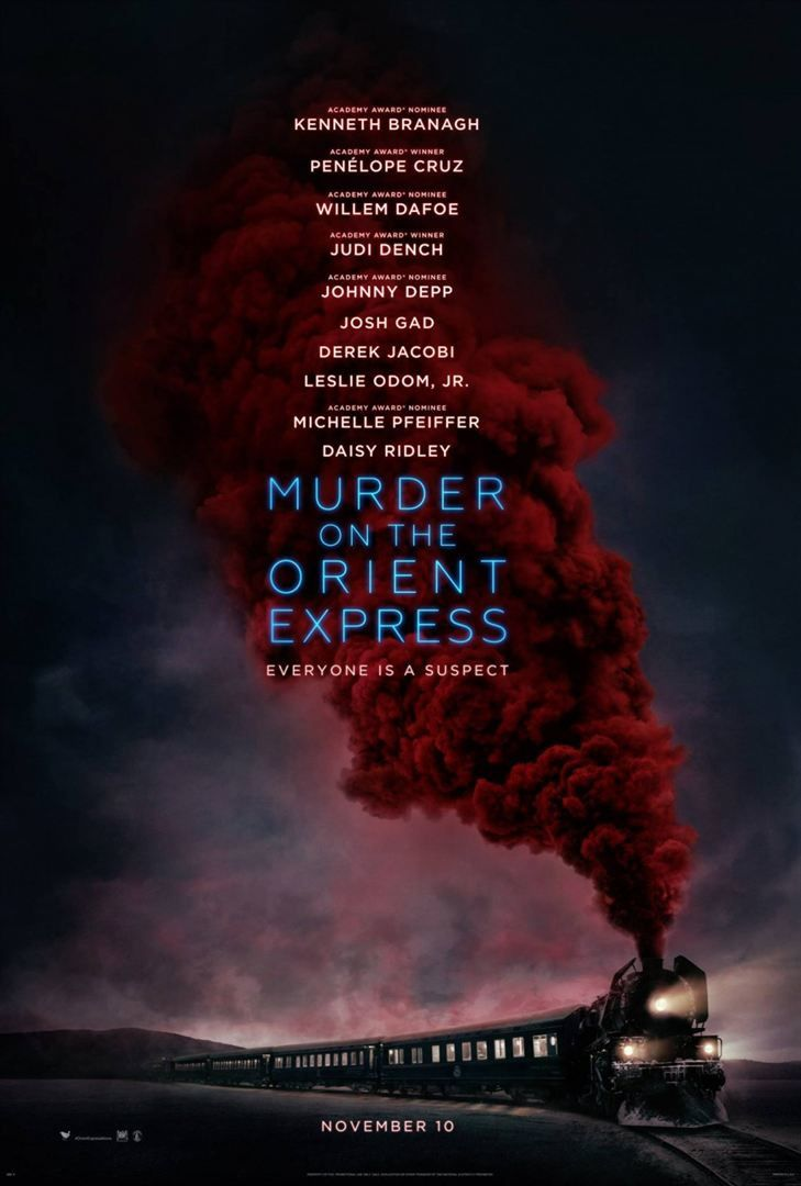 Le Crime de l'Orient Express (Murder on the Orient Express) Kenneth Branagh, Johnny Depp - Le 13 décembre 2017 au cinéma
