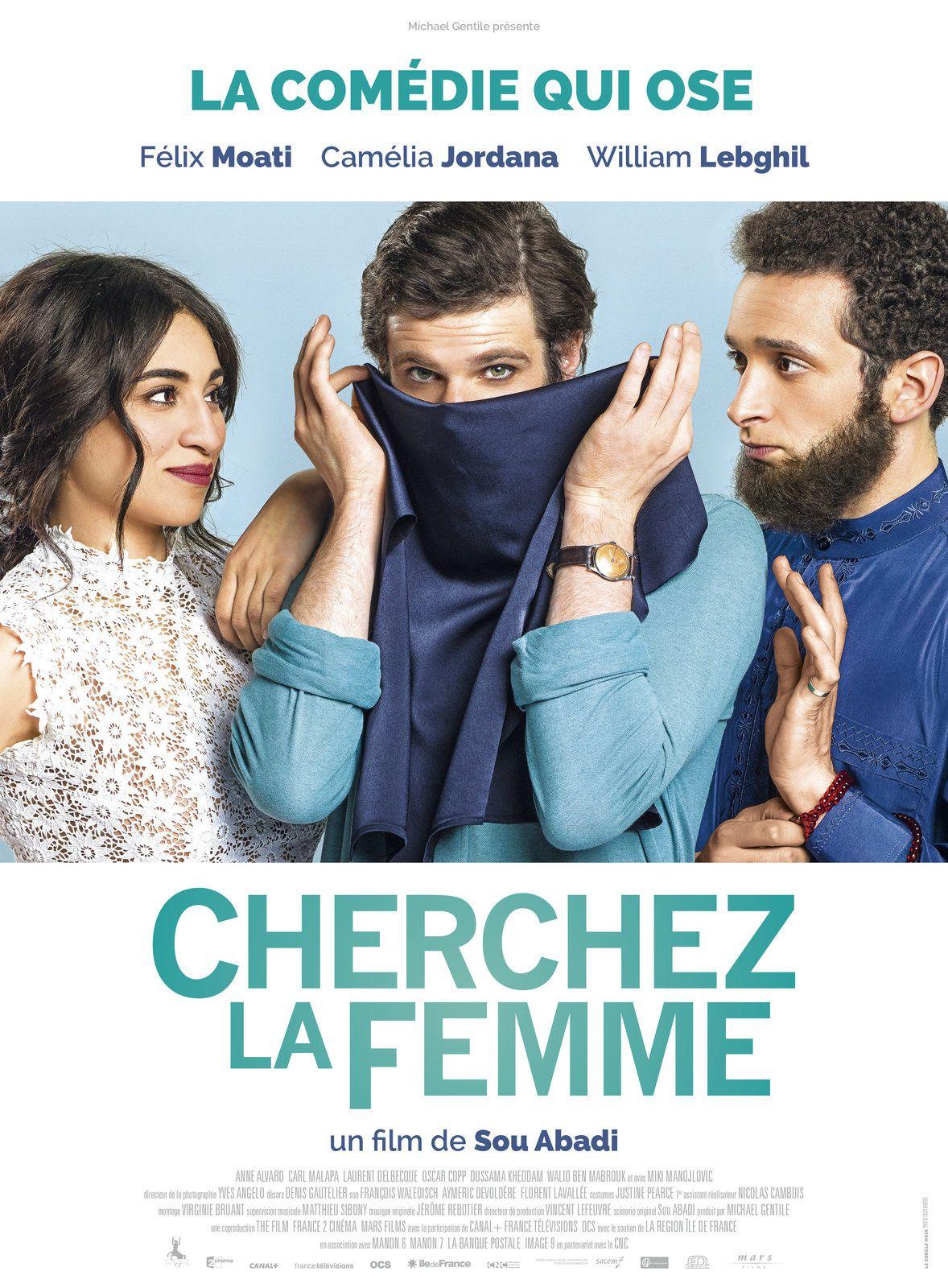 CHERCHEZ LA FEMME (BANDE ANNONCE) avec Camélia Jordana, Félix Moati, William Lebghil - Sortie le 28 juin 2017 au cinéma