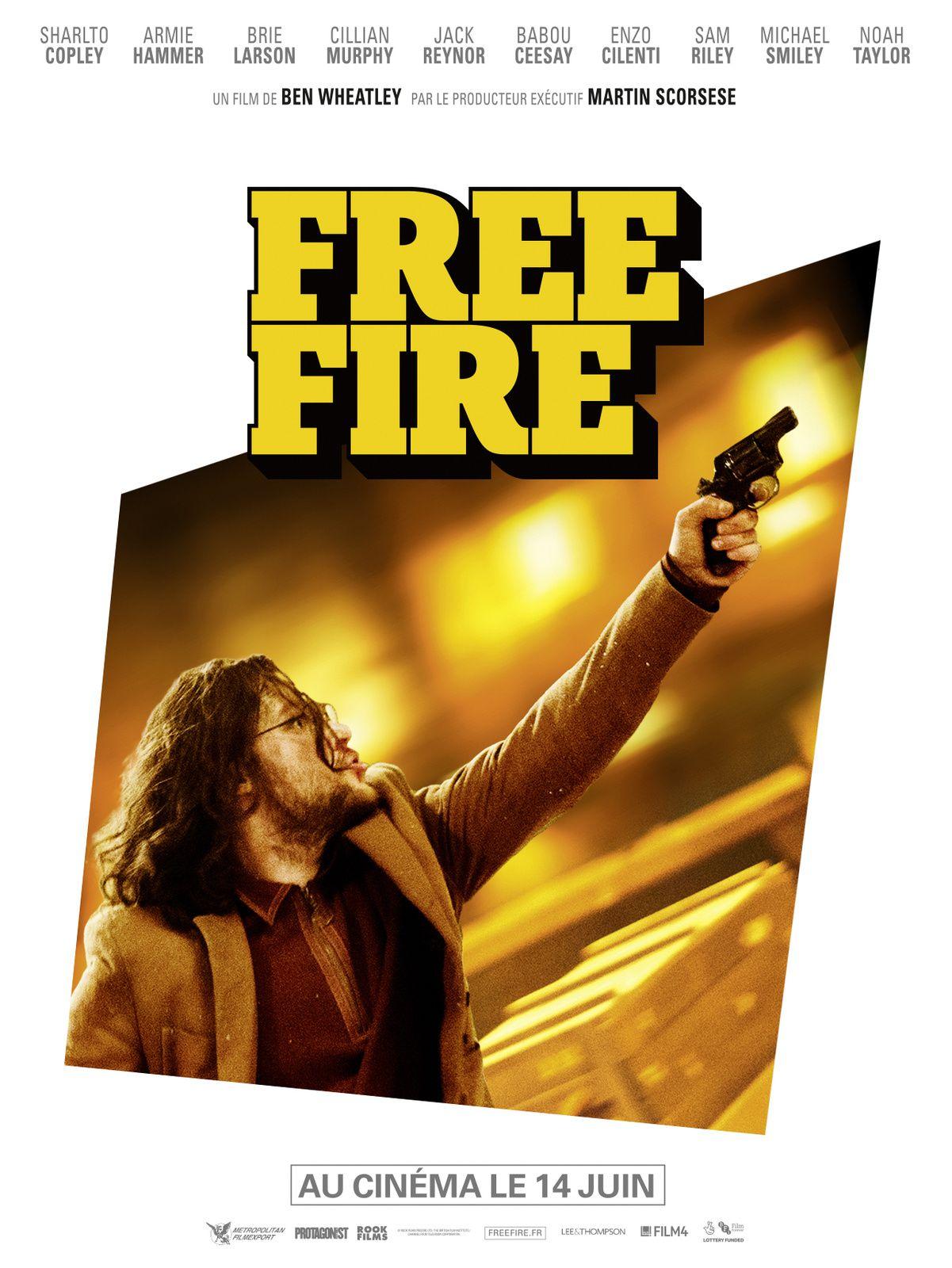 Tous armés. Tous enragés. FREE FIRE le 14 juin 2017 au cinéma ! Découvrez 3 extraits