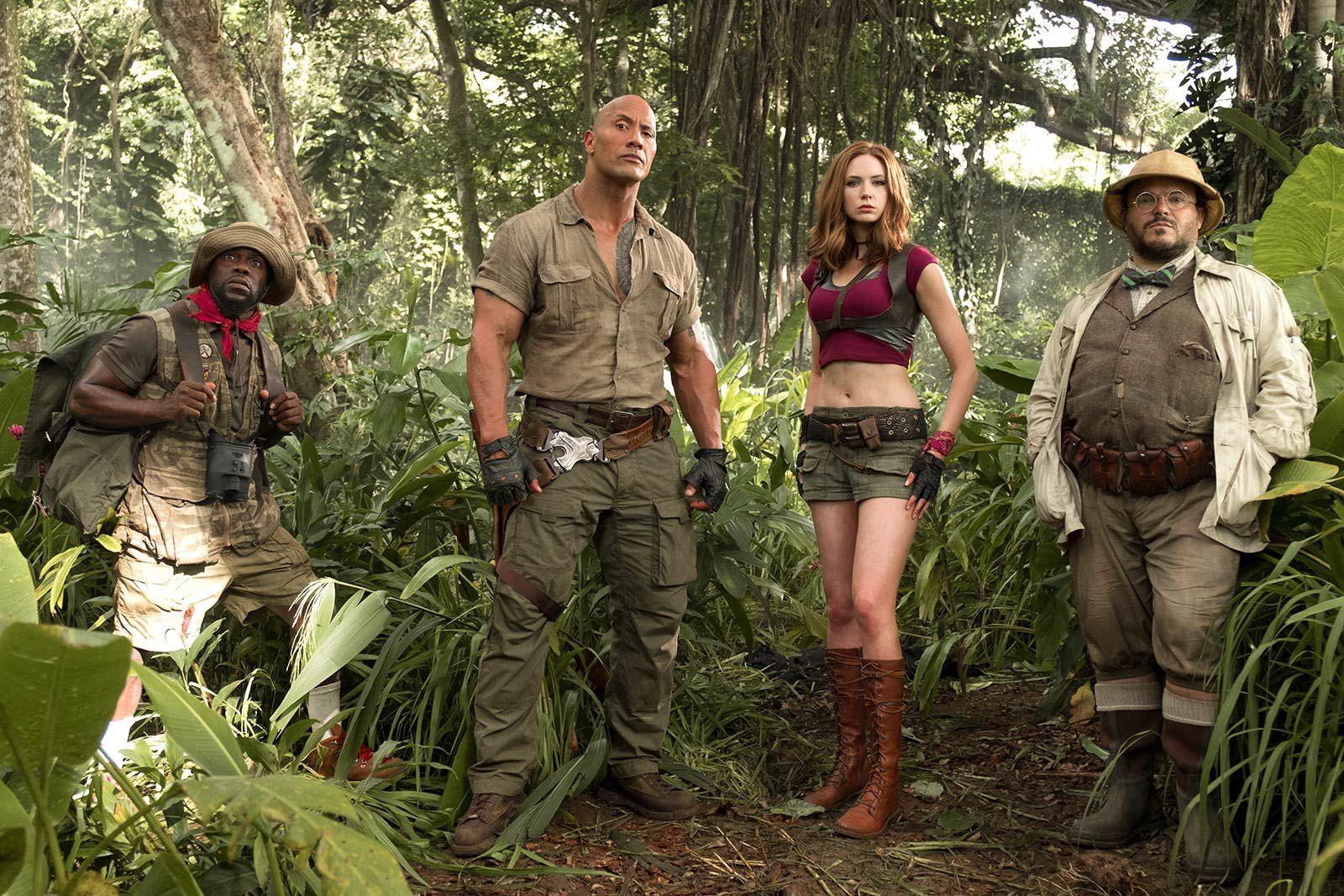 Jumanji : Bienvenue dans la jungle (BANDE ANNONCE) Le 20 décembre 2017 au cinéma