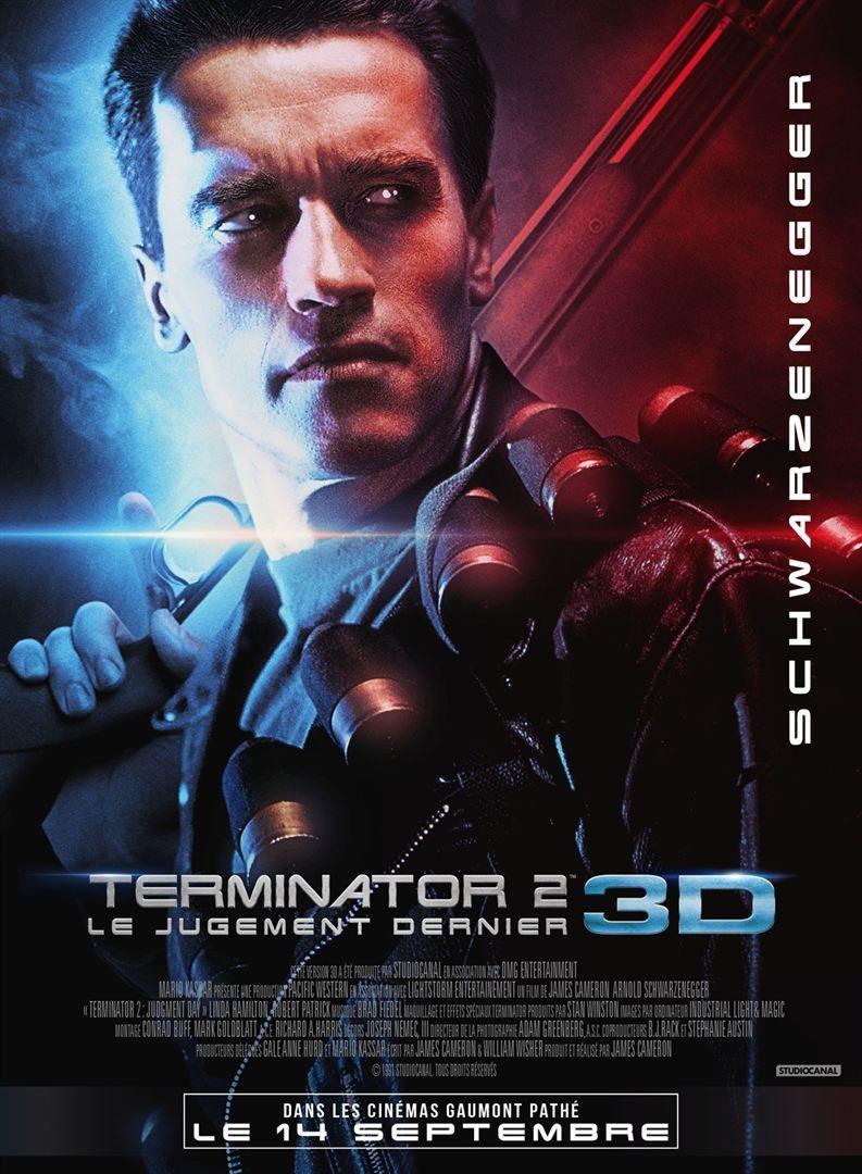 TERMINATOR 2 3D de James Cameron avec Arnold Schwarzenegger, Edward Furlong - Le 14 septembre 2017 au cinéma