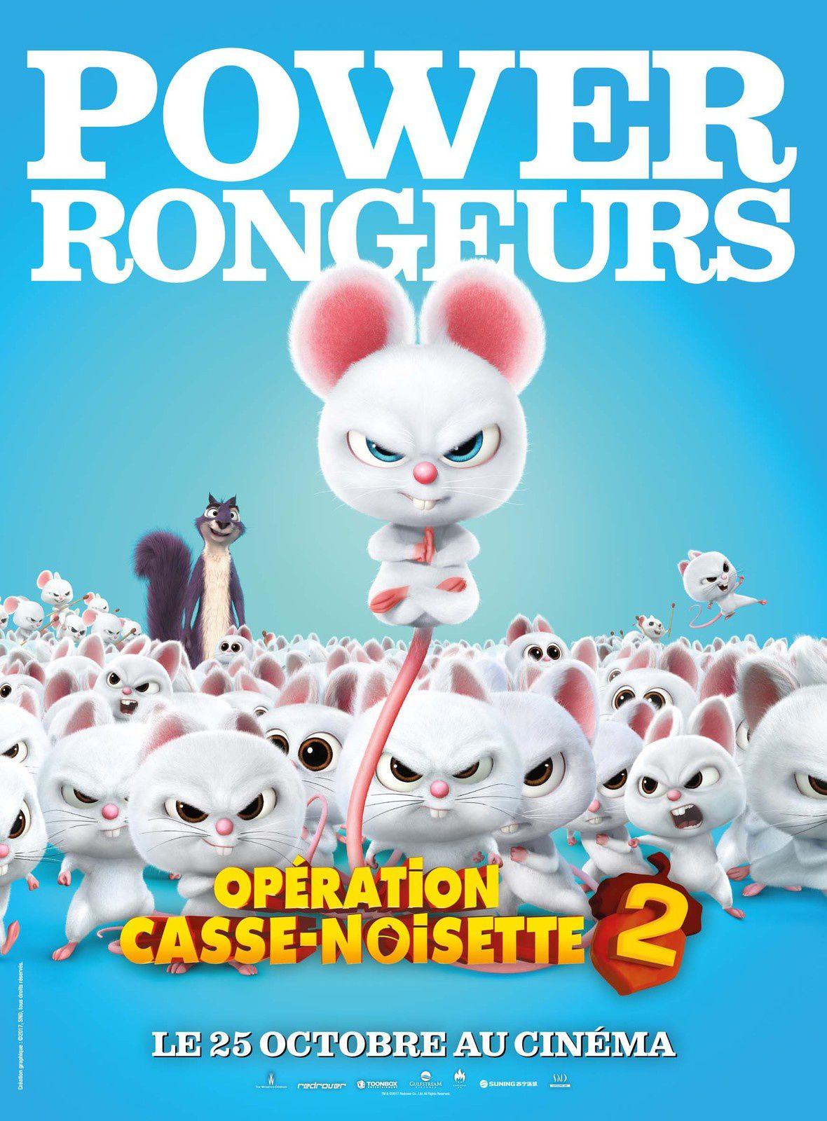 OPÉRATION CASSE NOISETTE 2 : Toutes les affiches du film dévoilées ! Au cinéma le 25 octobre !