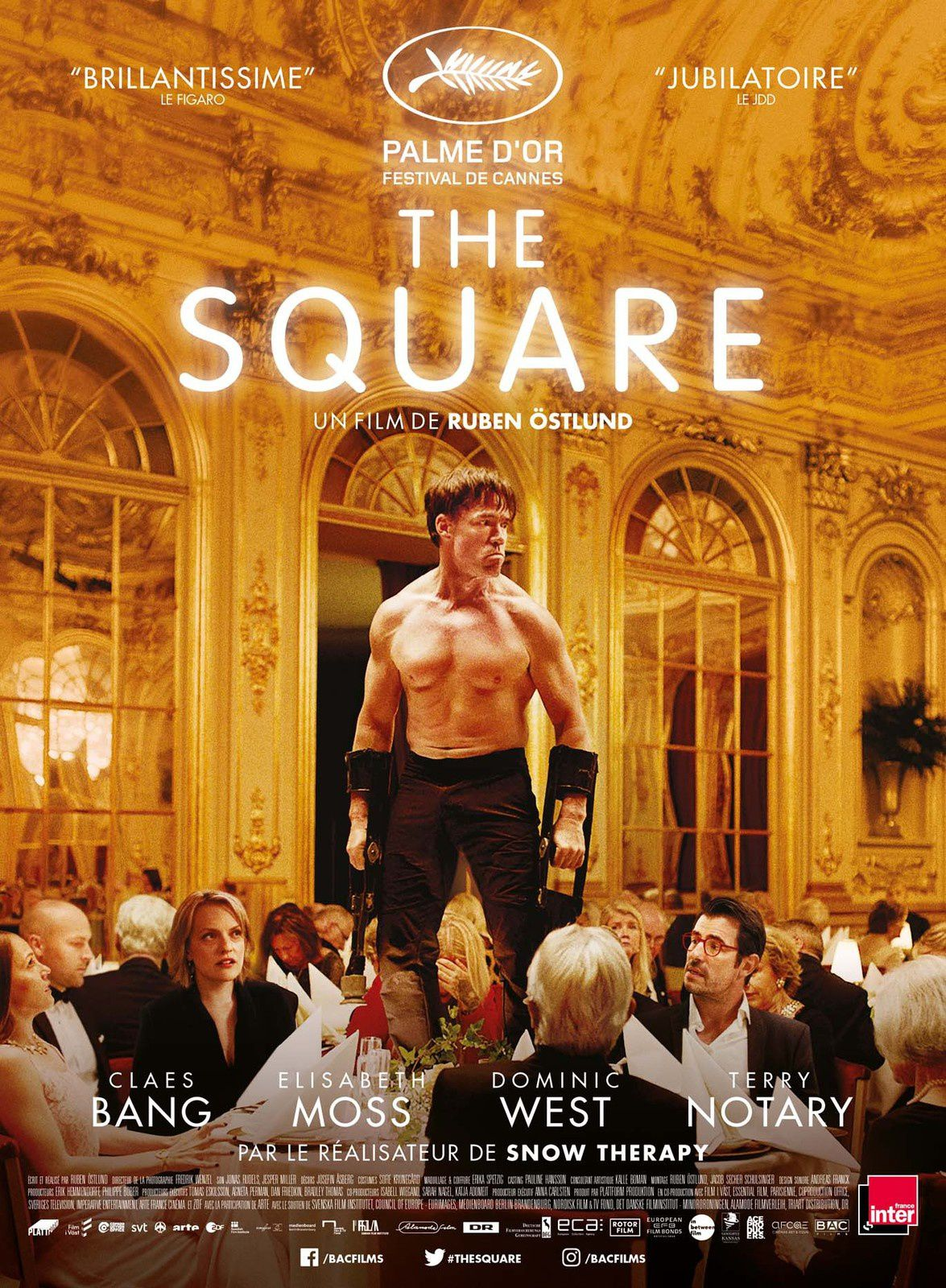 THE SQUARE - PALME D'OR FESTIVAL DE CANNES - Le 18 octobre 2017 au cinéma