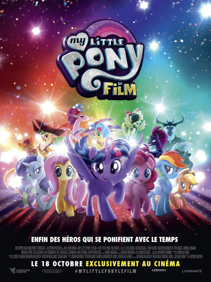 MY LITTLE PONY - UN PREMIER EXTRAIT AVEC LE PONEY INTERPRÉTÉ PAR SIA !