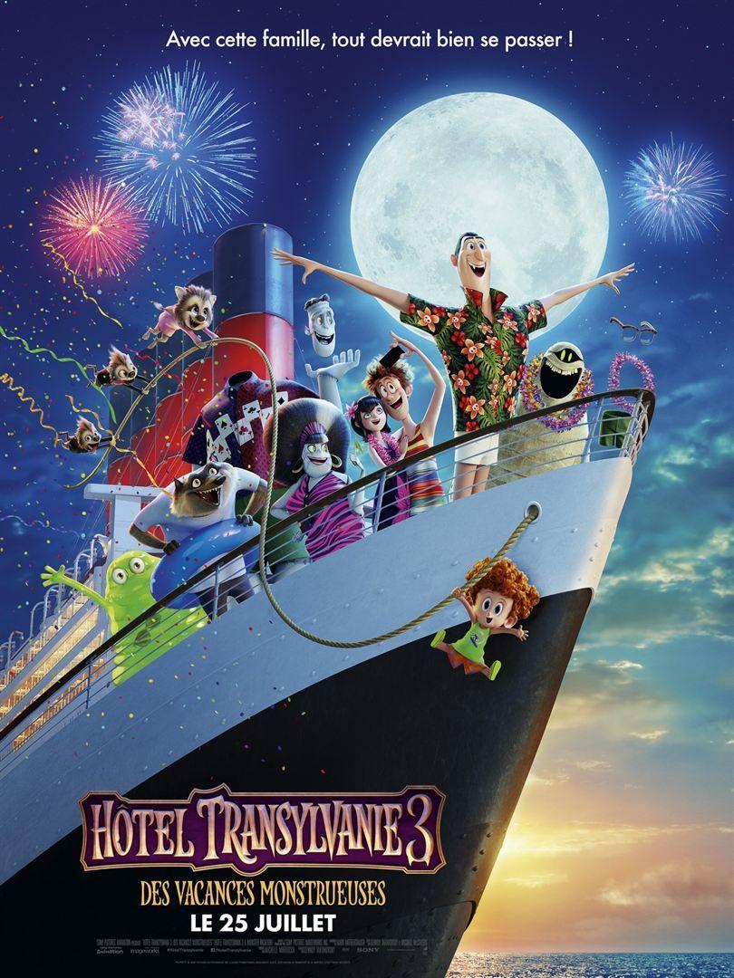 Hôtel Transylvanie 3 : Des vacances monstrueuses (LA BANDE-ANNONCE) Le 25 juillet 2018 au cinéma