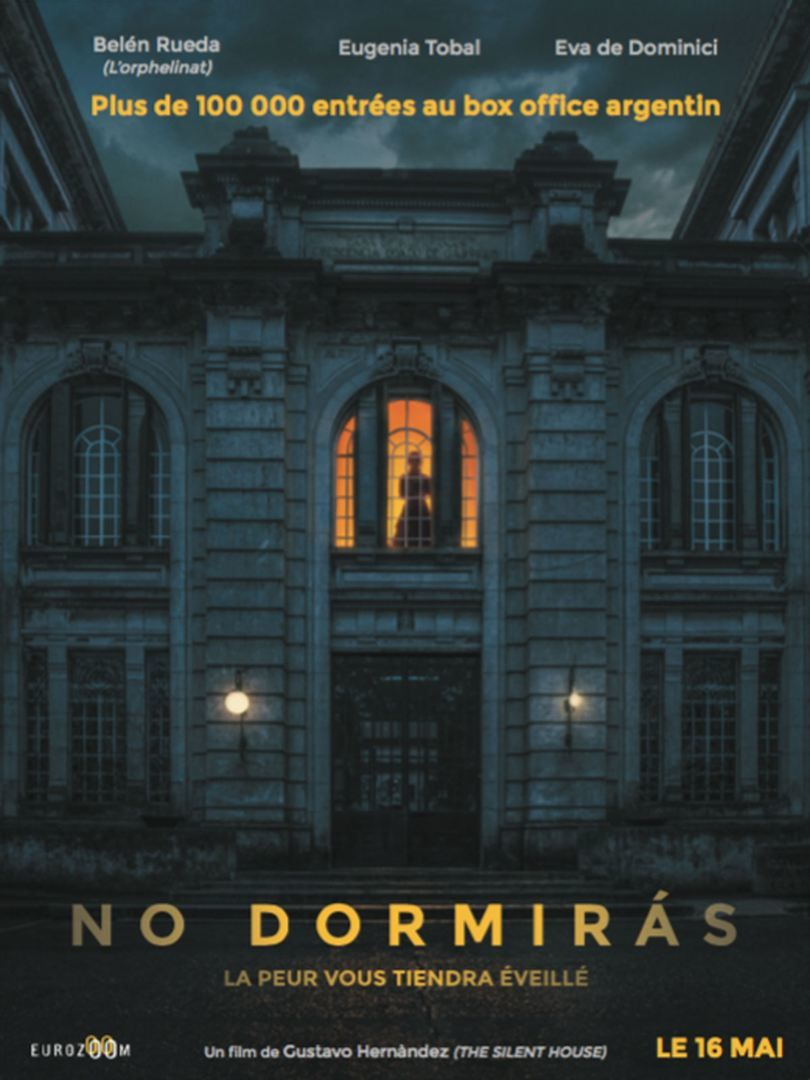 No dormirás (BANDE-ANNONCE + 4 EXTRAITS) de Gustavo Hernandez - Le 16 mai 2018 au cinéma