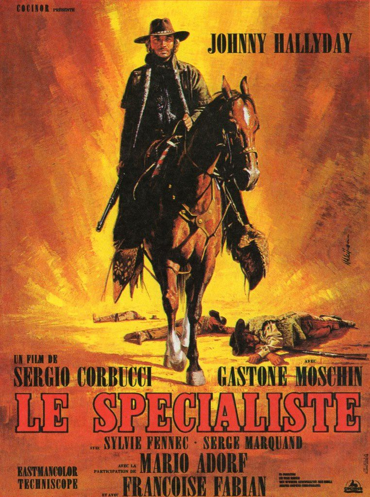 LE SPECIALISTE (BANDE ANNONCE ITALIENNE 1969) avec Johnny HALLYDAY (The Specialist) (Gli specialisti)