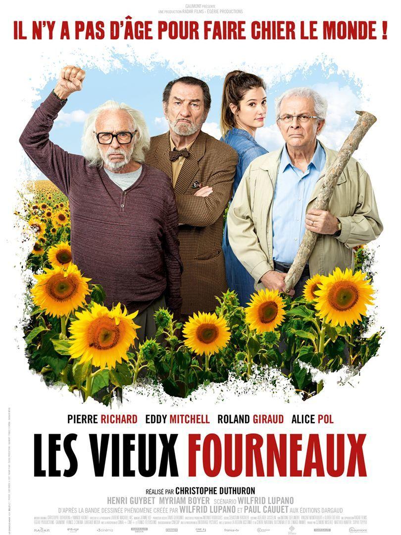 Les vieux fourneaux (BANDE-ANNONCE) avec Pierre Richard, Eddy Mitchell, Roland Giraud, Alice Pol - Le 22 août 2018 au cinéma
