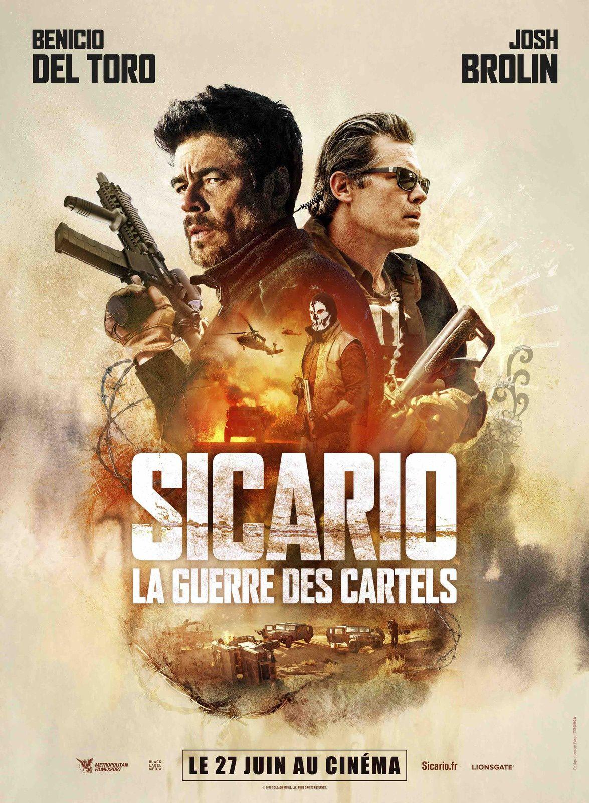 Découvrez 3 extraits de SICARIO LA GUERRE DES CARTELS avec Benicio Del Toro et Josh Brolin - Le 27 juin 2018 au cinéma