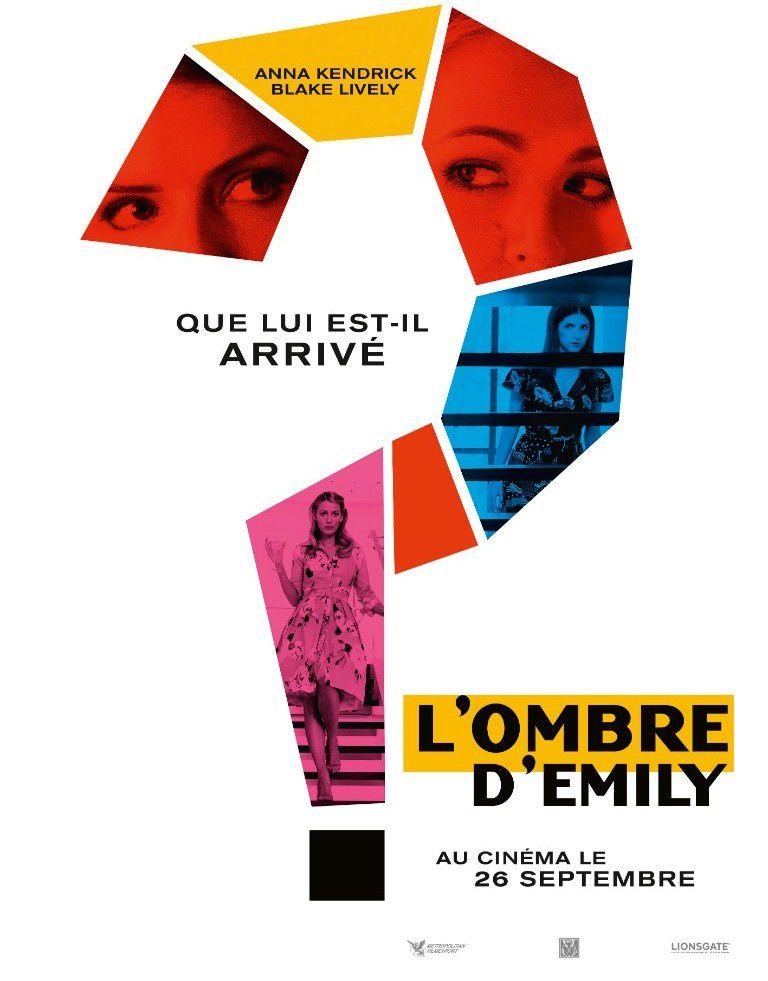 Blake Lively dans L'OMBRE D'EMILY : découvrez le teaser et l'affiche teaser ! Au cinéma le 26 septembre 2018