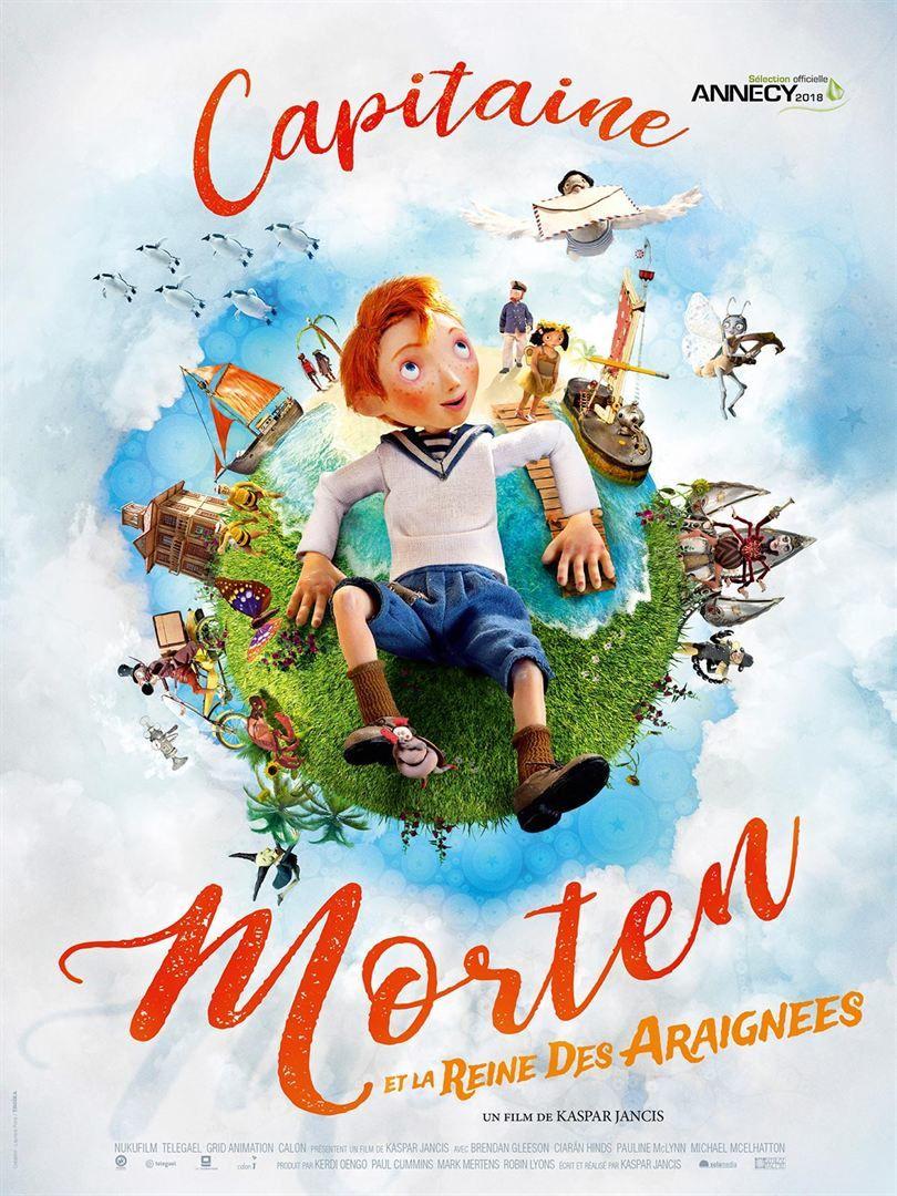 Capitaine Morten et la reine des araignées (BANDE-ANNONCE) Le 15 août 2018 au cinéma