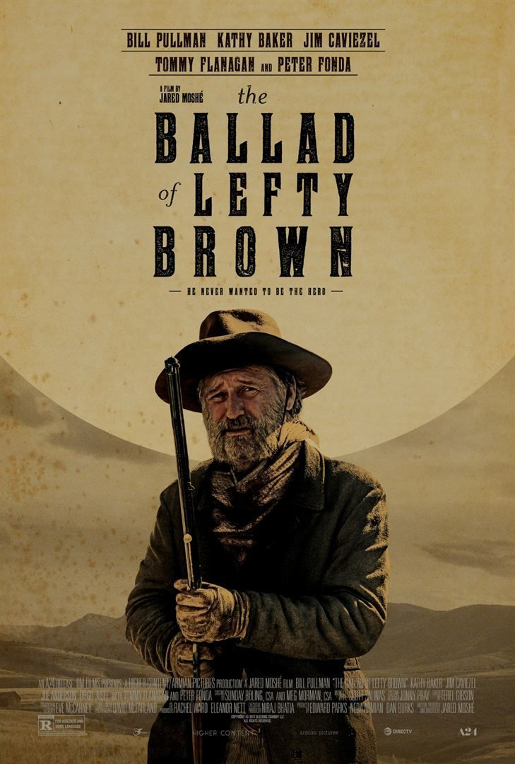 The Ballad of Lefty Brown (BANDE-ANNONCE VO) avec Bill Pullman, Peter Fonda, Jim Caviezel