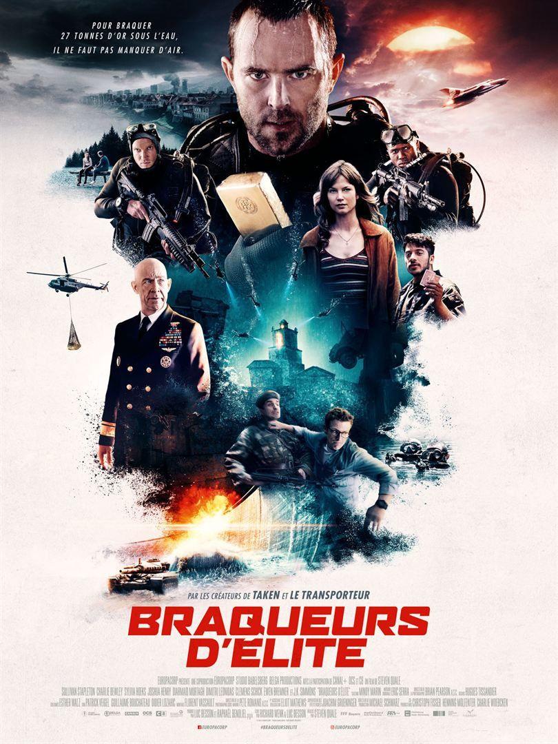 Braqueurs d'élite (Renegades) (BANDE-ANNONCE + 2 EXTRAITS) avec J.K. Simmons - Le 29 août 2018 au cinéma
