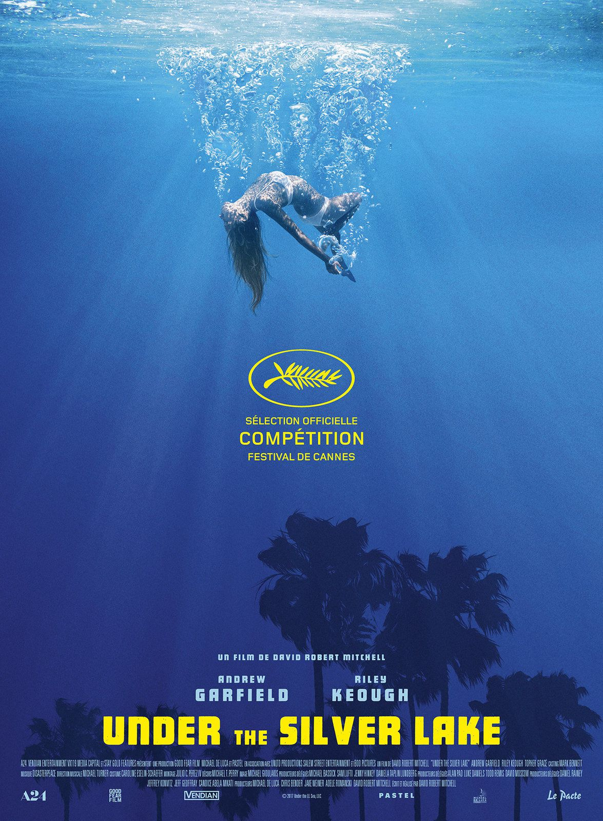 Under The Silver Lake (BANDE-ANNONCE) avec Andrew Garfield, Riley Keough, Topher Grace - Le 8 août 2018 au cinéma