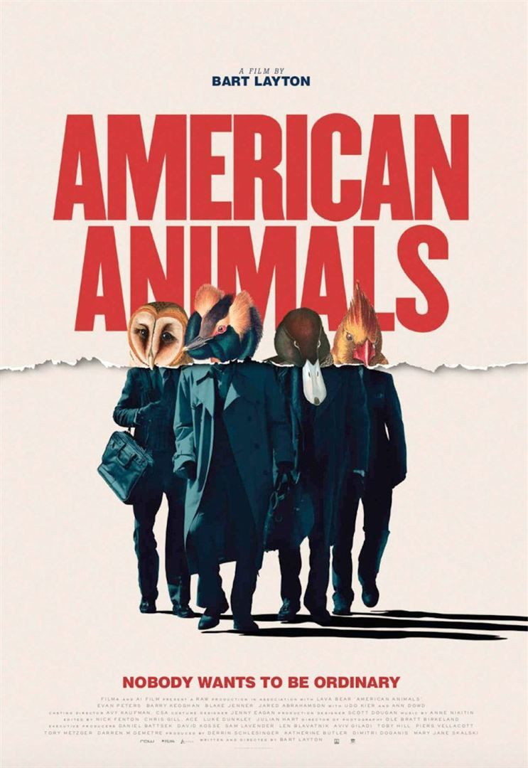 AMERICAN ANIMALS (BANDE-ANNONCE) avec Evan Peters, Ann Dowd, Barry Keoghan