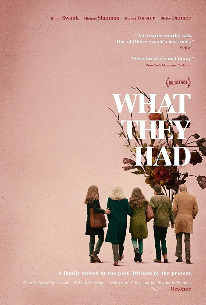 What They Had (BANDE-ANNONCE) avec Hilary Swank, Michael Shannon, Robert Forster