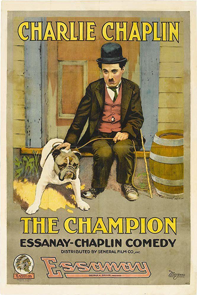 Charlot boxeur (The champion) Court-métrage de et avec Charles Chaplin (1915)