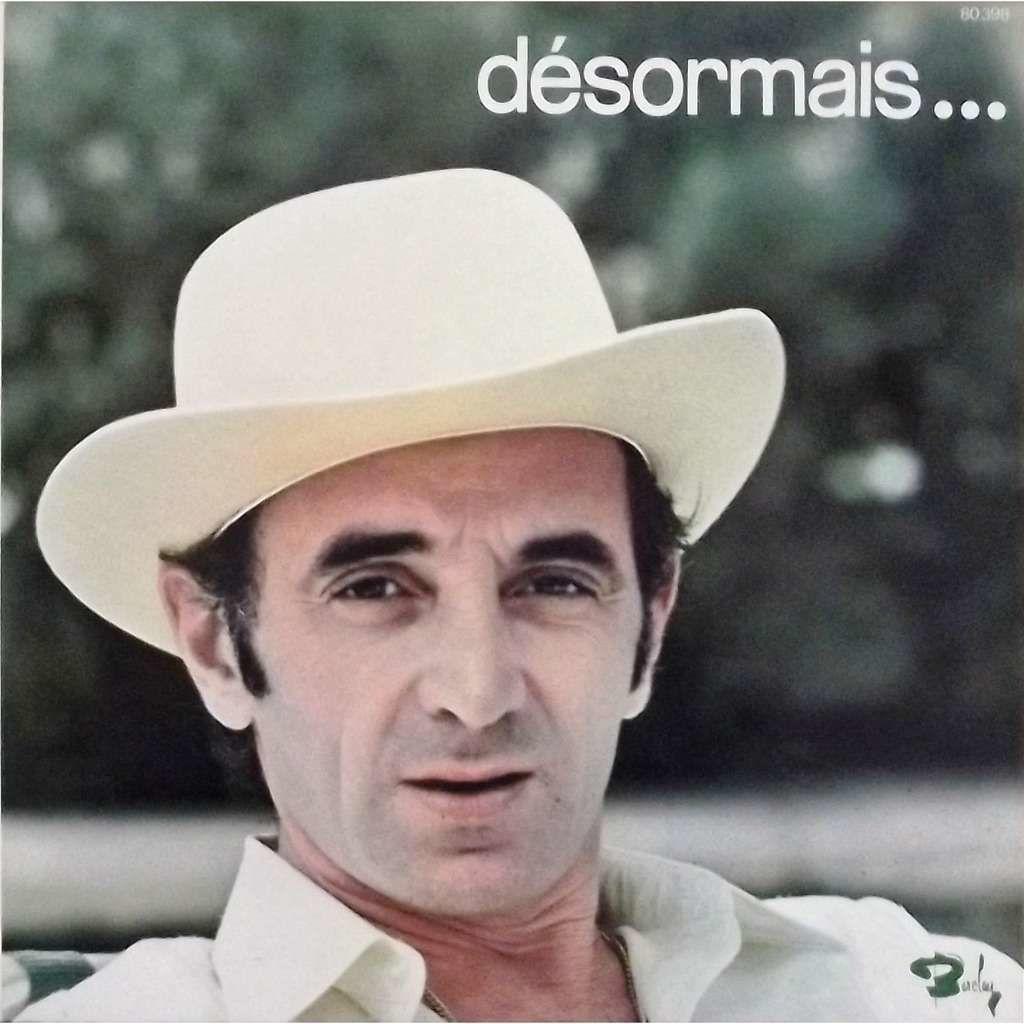Charles Aznavour - Desormais (CLIP LIVE 1972)