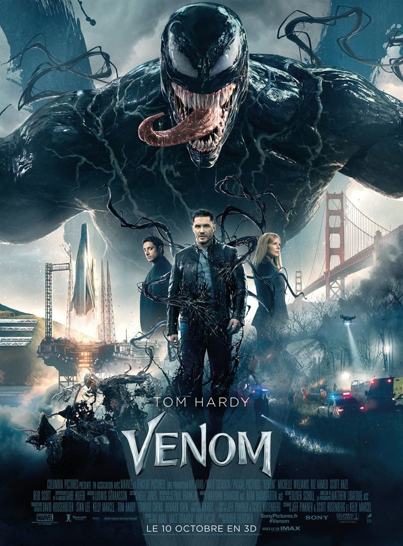 Venom (Extrait : Rock out with your brock out) avec Tom Hardy, Michelle Williams - Le 10 octobre 2018 au cinéma