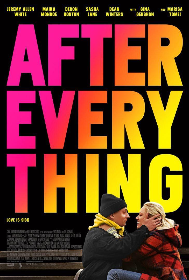 After Everything (BANDE-ANNONCE) avec Maika Monroe, Marisa Tomei, Sasha Lane