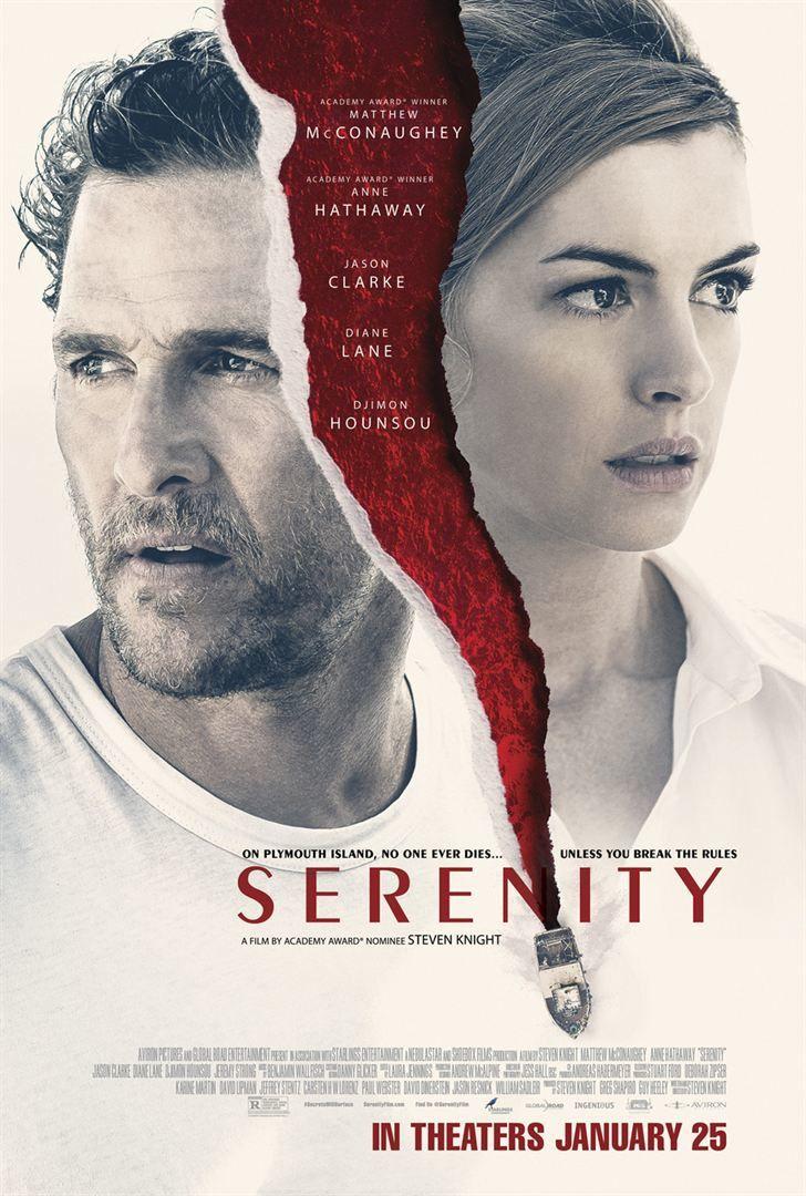 Serenity (BANDE-ANNONCE) avec Matthew McConaughey, Anne Hathaway, Djimon Hounsou, Diane Lane - Le 8 mars 2019 sur Netflix